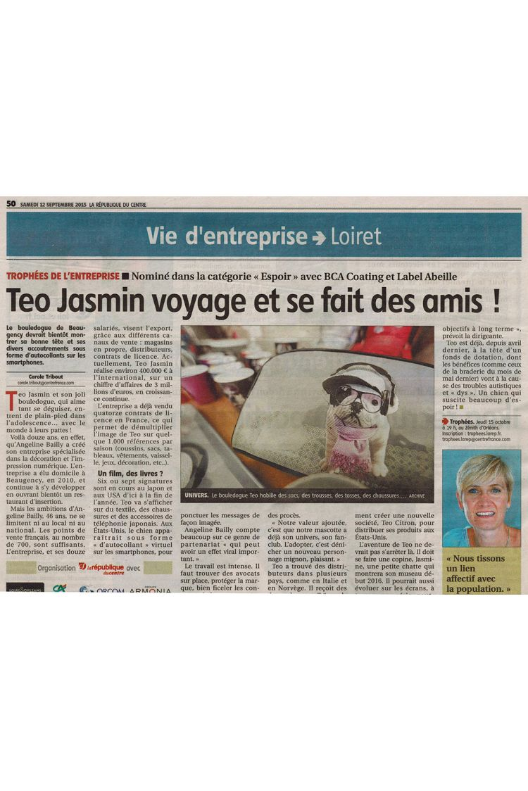 La Republique du Centre - Teo Jasmin voyage