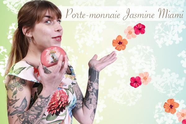 Porte-monnaie Jasmine Miami